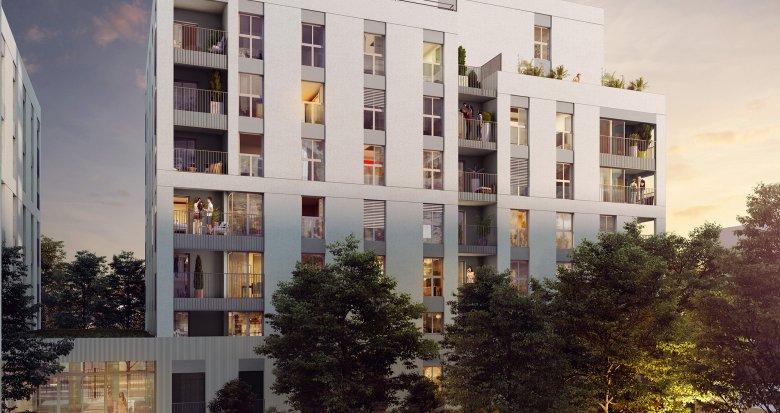 Achat / Vente appartement neuf Lyon 8 proche futur tramway T6 (69008) - Réf. 3223