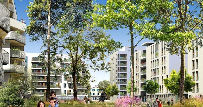 Achat / Vente appartement neuf Lyon 8 proche Jean Macé (69008) - Réf. 1242