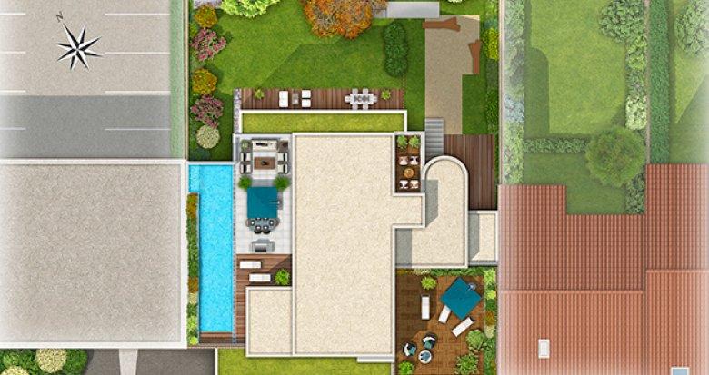 Achat / Vente appartement neuf Lyon 8 quartier Monplaisir (69008) - Réf. 1061