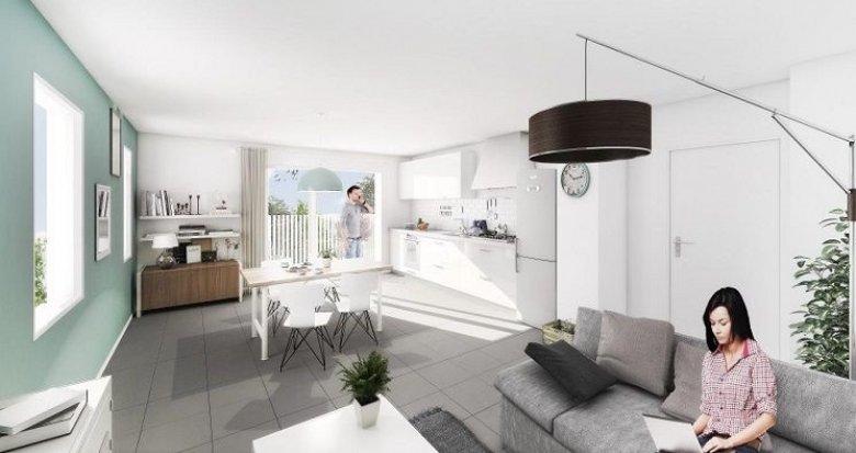 Achat / Vente appartement neuf Lyon 8 secteur Mermoz proche transports (69008) - Réf. 1368
