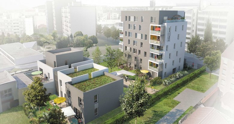 Achat / Vente appartement neuf Lyon 8e proche des transports (69008) - Réf. 1154