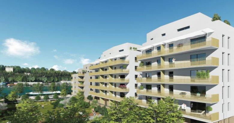 Achat / Vente appartement neuf Lyon 9 proche Saône (69009) - Réf. 3841