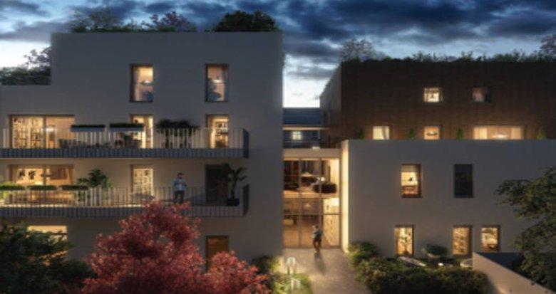Achat / Vente appartement neuf Lyon au cœur du quartier Monchat (69003) - Réf. 4599
