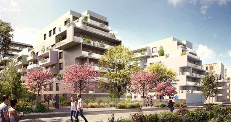 Achat / Vente appartement neuf Lyon quartier Coeur 8ème Monplaisir (69008) - Réf. 1103
