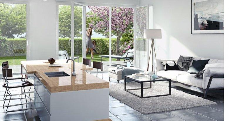 Achat / Vente appartement neuf Lyon Villeurbanne proche commerces (69100) - Réf. 1566