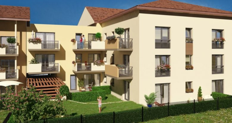 Achat / Vente appartement neuf Meyzieu à 10 minutes du centre-ville (69330) - Réf. 2224