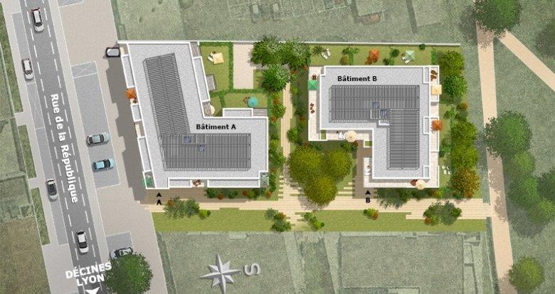 Achat / Vente appartement neuf Meyzieu centre ville (69330) - Réf. 1298