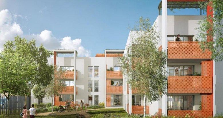 Achat / Vente appartement neuf Meyzieu proche centre-ville (69330) - Réf. 2225