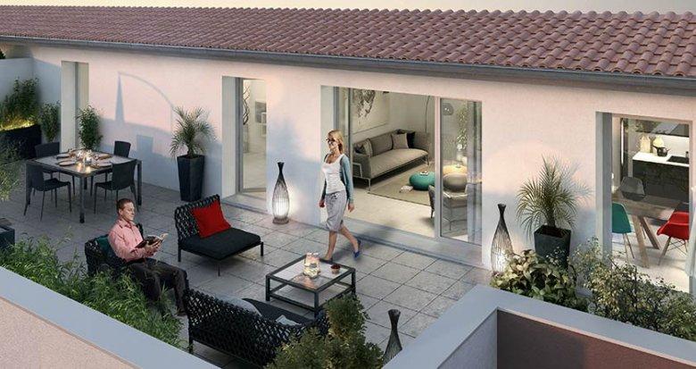 Achat / Vente appartement neuf Meyzieu proche du centre-ville (69330) - Réf. 434