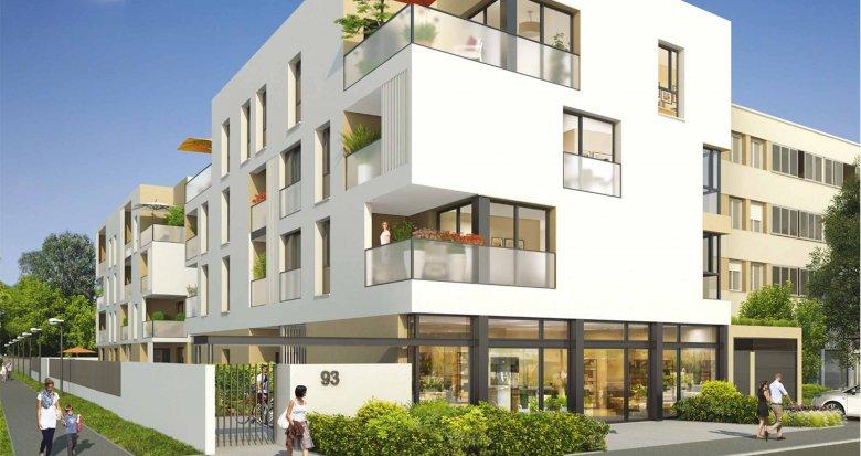 Achat / Vente appartement neuf Meyzieu proche mairie (69330) - Réf. 576