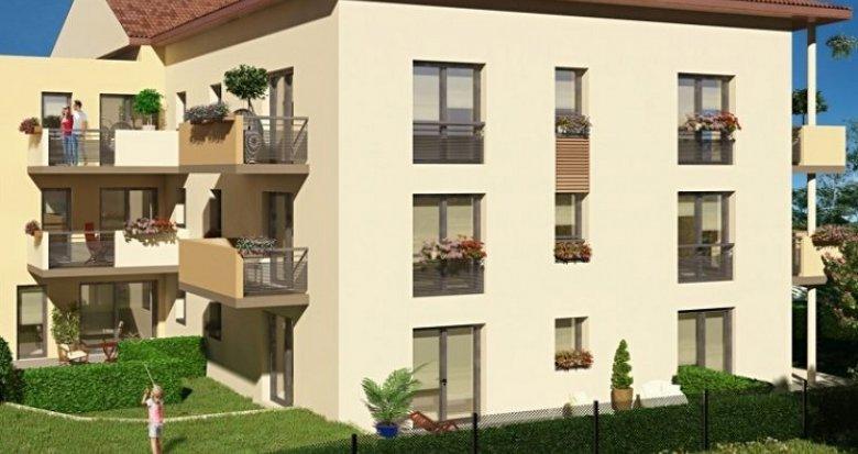 Achat / Vente appartement neuf Meyzieu proche médiathèque (69330) - Réf. 3501