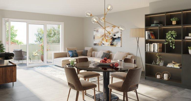 Achat / Vente appartement neuf Neuville-sur-Saône quartier résidentiel au calme (69250) - Réf. 5382