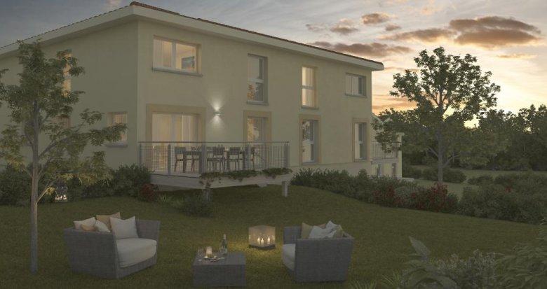 Achat / Vente appartement neuf Nuelles à deux pas de l'école (69210) - Réf. 568