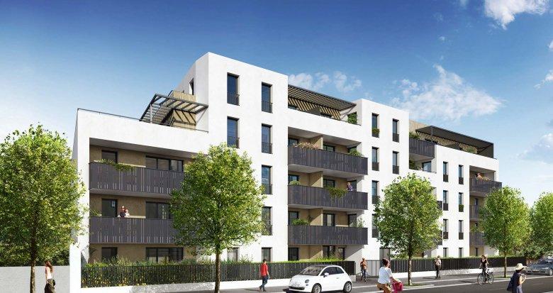 Achat / Vente appartement neuf Oullins dans quartier résidentiel (69600) - Réf. 2006