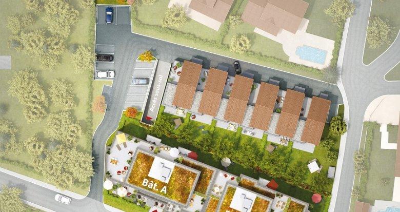 Achat / Vente appartement neuf Pollionnay dans un cadre champêtre (69290) - Réf. 352