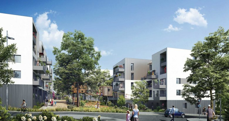 Achat / Vente appartement neuf Rillieux-la-Pape proche centre-ville et écoles (69140) - Réf. 1999