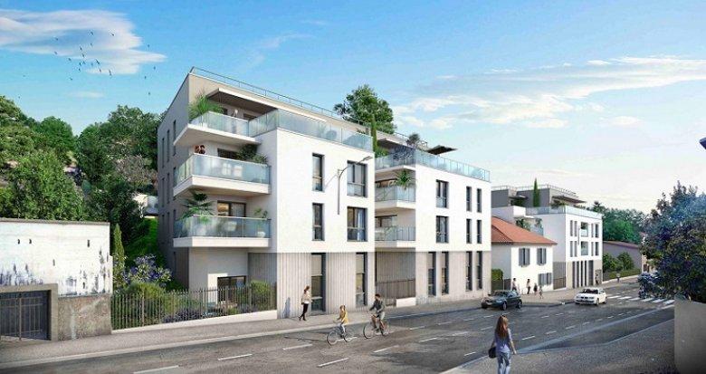 Achat / Vente appartement neuf Rillieux-la-Pape proche place Canellas (69140) - Réf. 6038