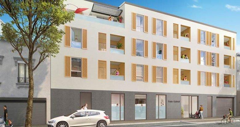 Achat / Vente appartement neuf Saint-Fons aux portes de Lyon (69190) - Réf. 2124