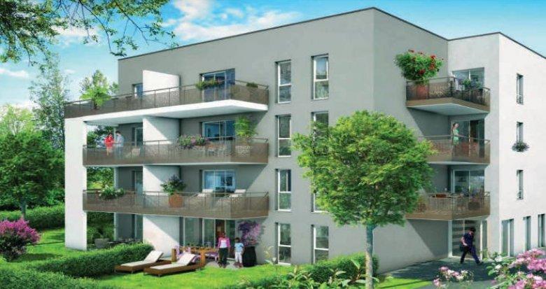 Achat / Vente appartement neuf Saint-Fons proche centre (69190) - Réf. 3399