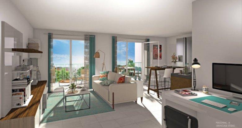 Achat / Vente appartement neuf Saint-Laurent-de-Mure coeur de ville (69720) - Réf. 5978