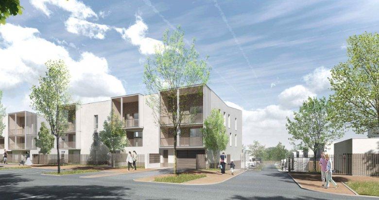 Achat / Vente appartement neuf Saint Priest (69800) proche de Lyon (69800) - Réf. 2237