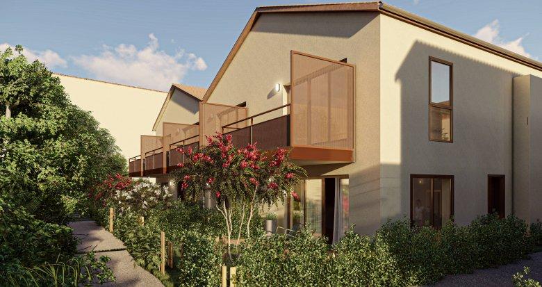 Achat / Vente appartement neuf Saint-Priest à deux pas du quartier Le Village (69800) - Réf. 6073