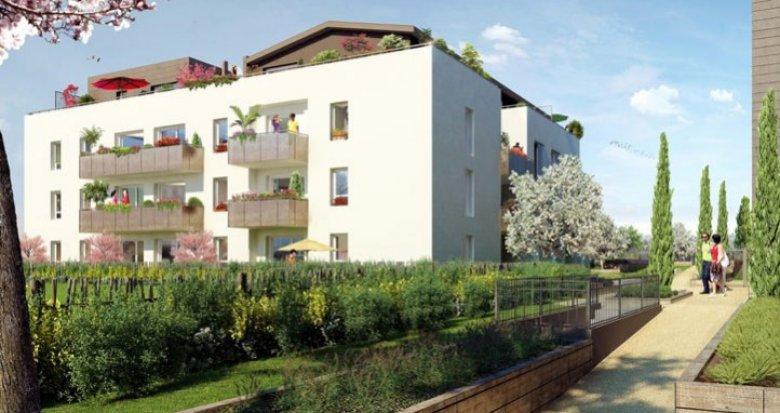 Achat / Vente appartement neuf Saint-Priest centre village (69800) - Réf. 476