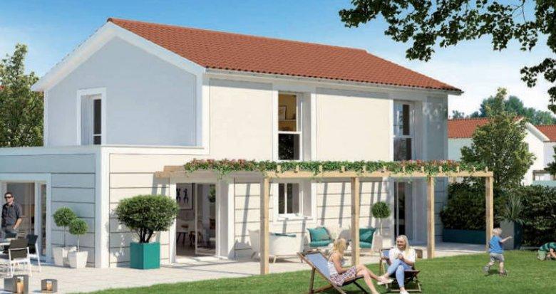 Achat / Vente appartement neuf Saint-Priest cœur quartier Manissieux (69800) - Réf. 3844