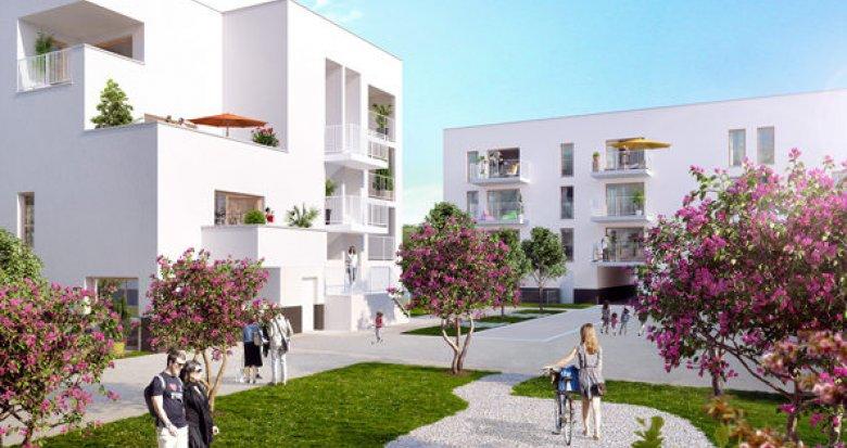 Achat / Vente appartement neuf Saint-Priest entre gare et tramway (69800) - Réf. 1037