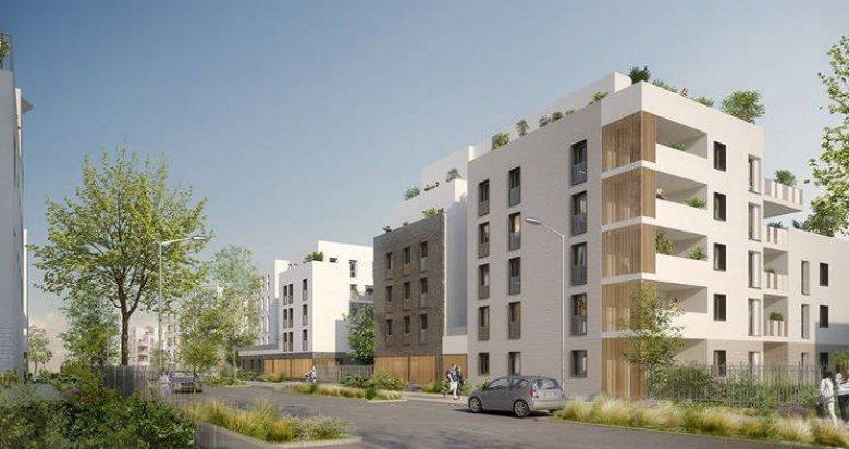 Achat / Vente appartement neuf Saint-Priest proche Hôtel de Ville (69800) - Réf. 3412