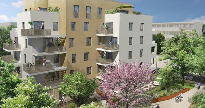 Achat / Vente appartement neuf Saint-Priest proche Lyon (69800) - Réf. 1844