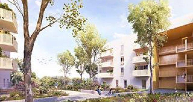 Achat / Vente appartement neuf Saint-Priest proche parc de Parilly (69800) - Réf. 3670