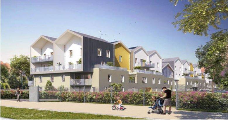 Achat / Vente appartement neuf Saint-Priest proche parc Parilly (69800) - Réf. 2923