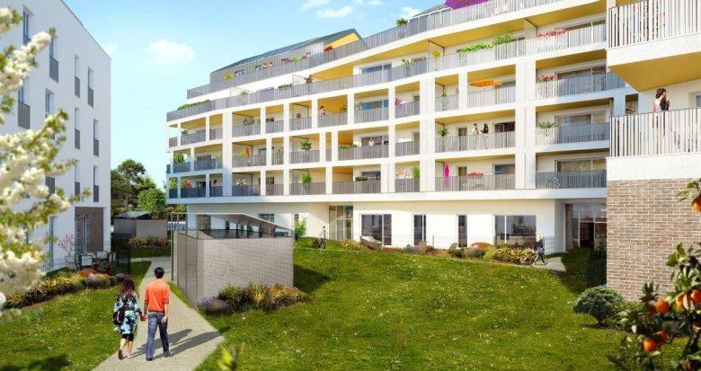Achat / Vente appartement neuf Saint-Priest proche Porte des Alpes (69800) - Réf. 1454