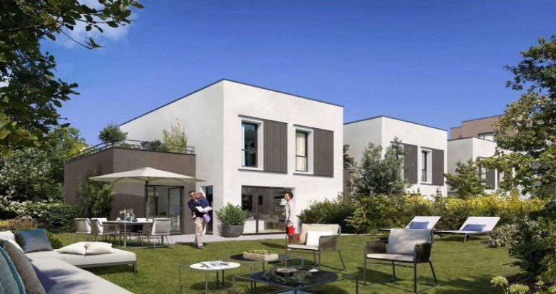 Achat / Vente appartement neuf Sainte-Foy-lès-Lyon à 900m du cœur de ville (69110) - Réf. 5106