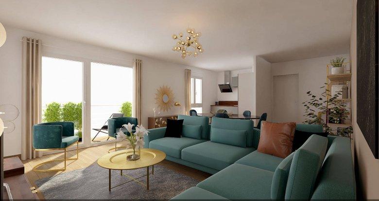Achat / Vente appartement neuf Sainte-Foy-lès-Lyon proche Champvert Point du Jour (69110) - Réf. 6270