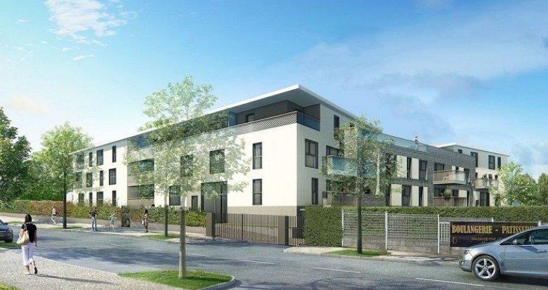 Achat / Vente appartement neuf Sainte-Foy-lès-Lyon quartier résidentiel 15 minutes de Lyon (69110) - Réf. 2026