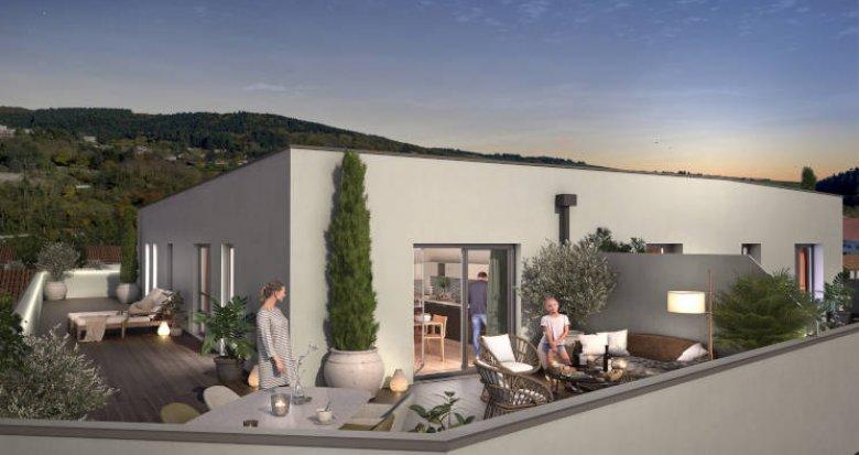Achat / Vente appartement neuf Tarare à côté de la gare (69170) - Réf. 5937