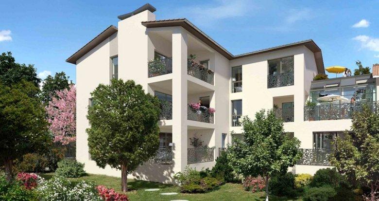 Achat / Vente appartement neuf Tassin la Demi-Lune 5 minutes place de l'Horloge (69160) - Réf. 1980