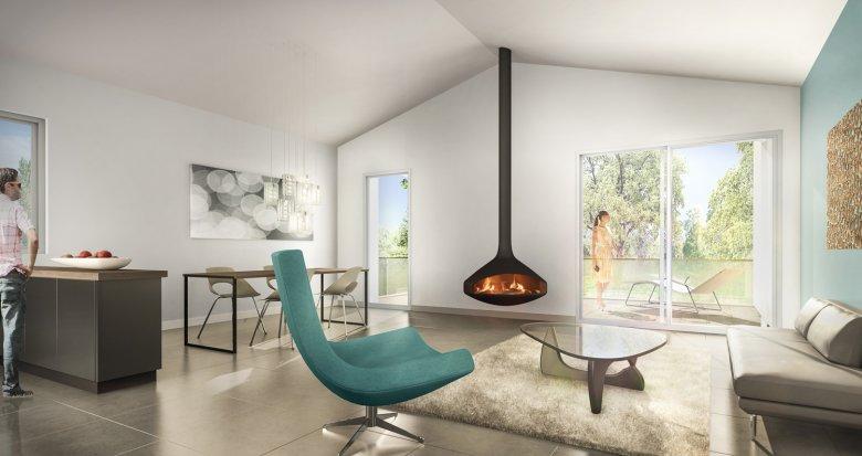 Achat / Vente appartement neuf Tassin-la-Demi-Lune au calme mais proche des commodités (69160) - Réf. 1801