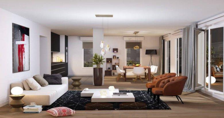 Achat / Vente appartement neuf Tassin-la-Demi-Lune proche Parc Public de l'Etoile (69160) - Réf. 4475