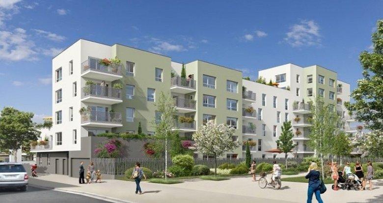 Achat / Vente appartement neuf Vaulx-en-Velin nouveau quartier Carré de Soie (69120) - Réf. 828