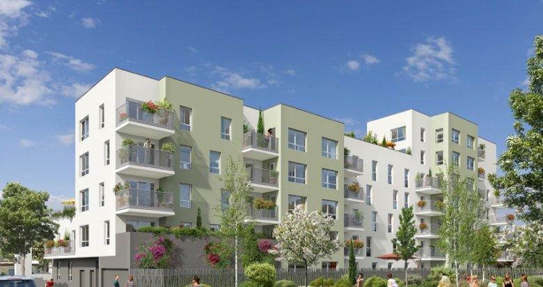 Achat / Vente appartement neuf Vaulx-en-Velin nouveau quartier Carré de Soie (69120) - Réf. 402