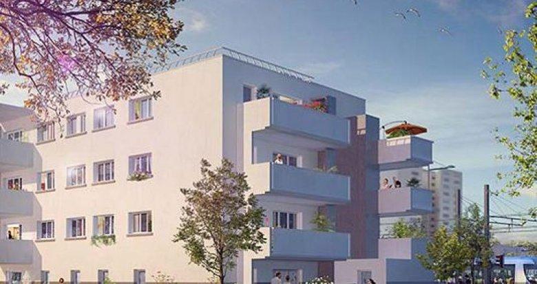 Achat / Vente appartement neuf Vaulx-en-Velin proche arrêt Maurice Thorez (69120) - Réf. 1301