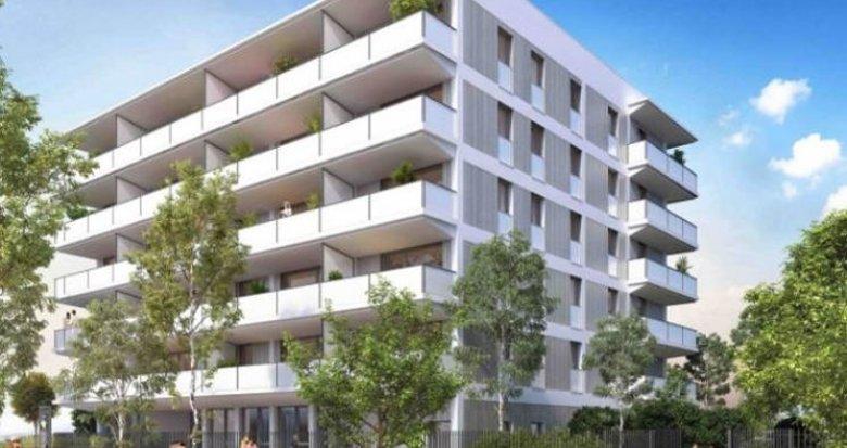 Achat / Vente appartement neuf Vaulx-en-Velin proche Carré de Soie (69120) - Réf. 2594