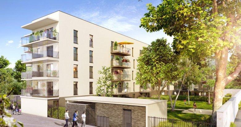 Achat / Vente appartement neuf Vaulx-en-Velin proche commerces et transports (69120) - Réf. 1631