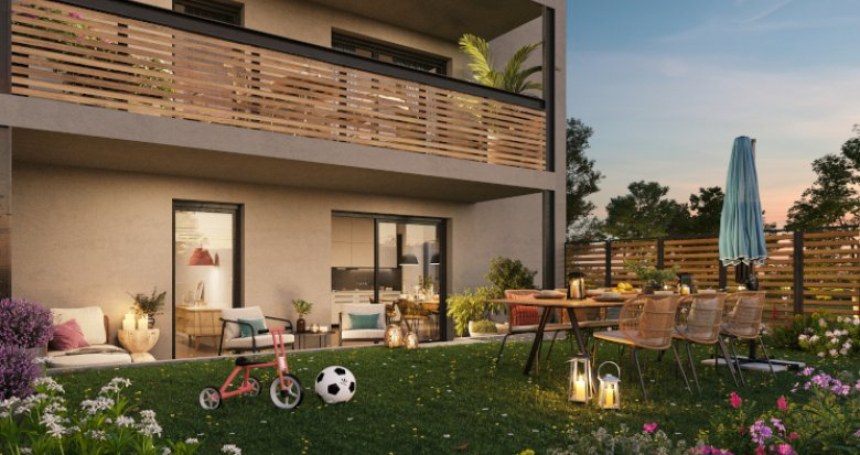 Achat / Vente appartement neuf Vaulx-en-Velin proche métro A (69120) - Réf. 5582