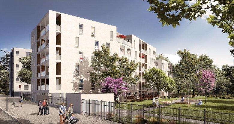 Achat / Vente appartement neuf Vaulx-en-Velin quartier Carré de Soie (69120) - Réf. 3437