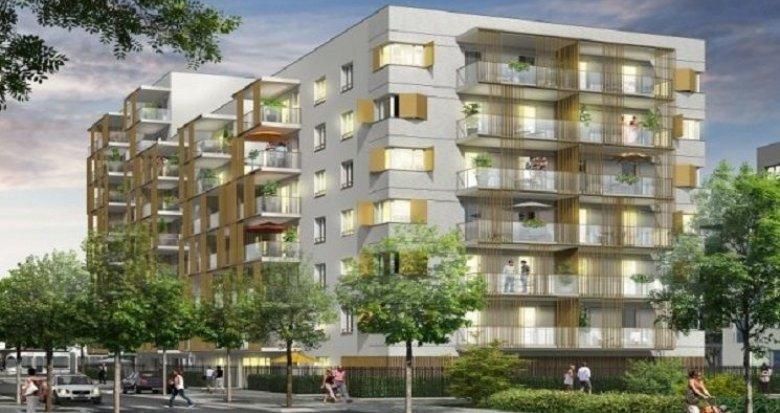 Achat / Vente appartement neuf Vaulx-en-Velin quartier connecté La Soie (69120) - Réf. 905
