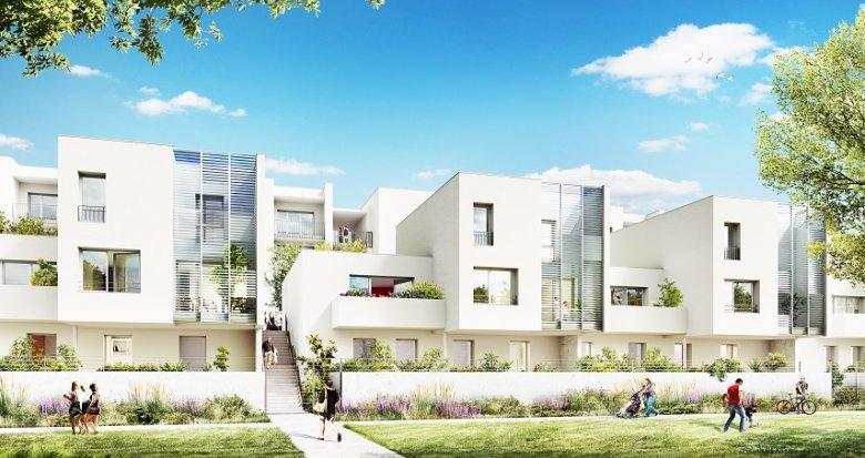 Achat / Vente appartement neuf Vaulx-en-Velin quartier de la Grappinière (69120) - Réf. 2041